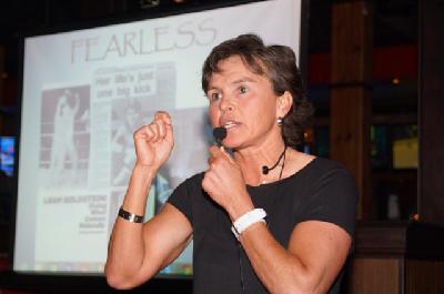 Leah Goldstein Speaking