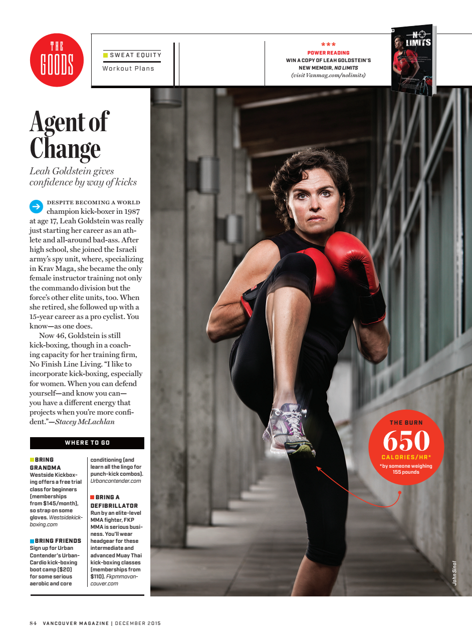 Vancouver Magazine Sweat Equity