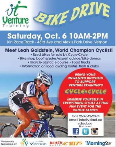 Venture Training Bike Drive Poster