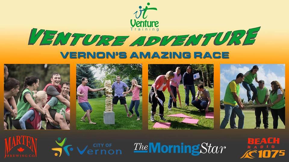 Vernon's Amazing Race